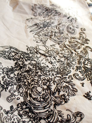 Close up of bag