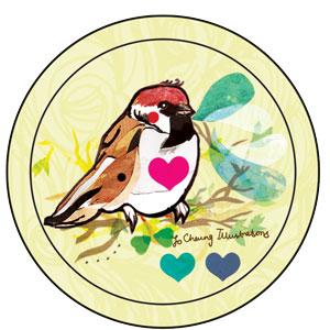 Mirror badge design
