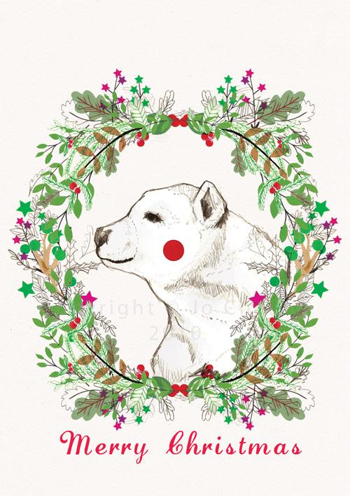 Christmas Card Design Jo Cheung Illustration