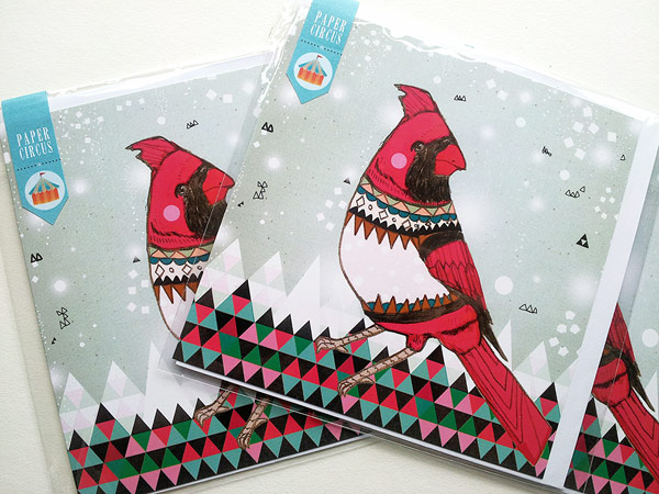 Christmas Card designs for Paper Circus