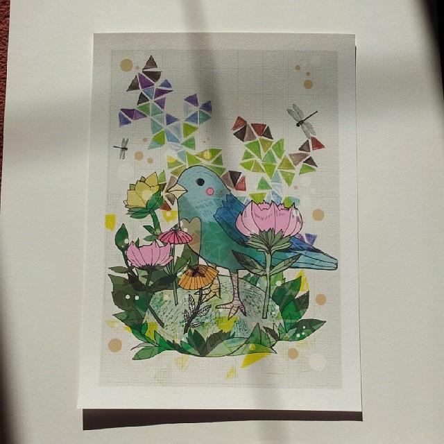 A3 Bird Print