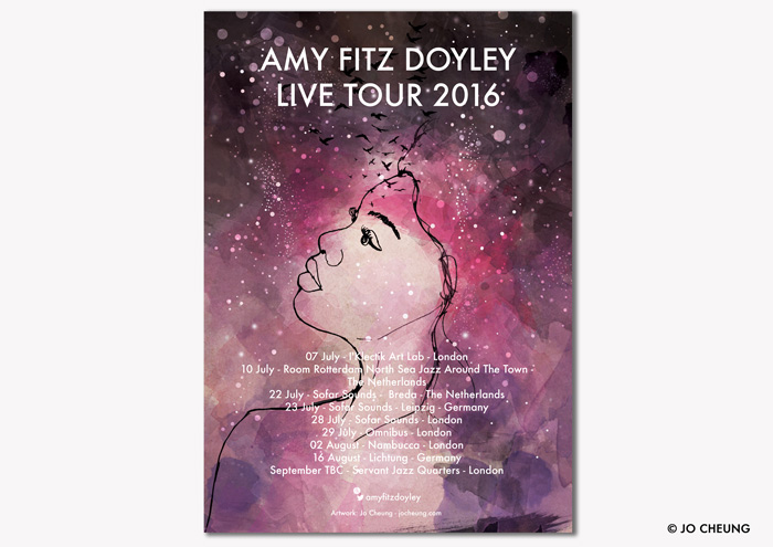 Promotional Material for Amy Fitz Doyley