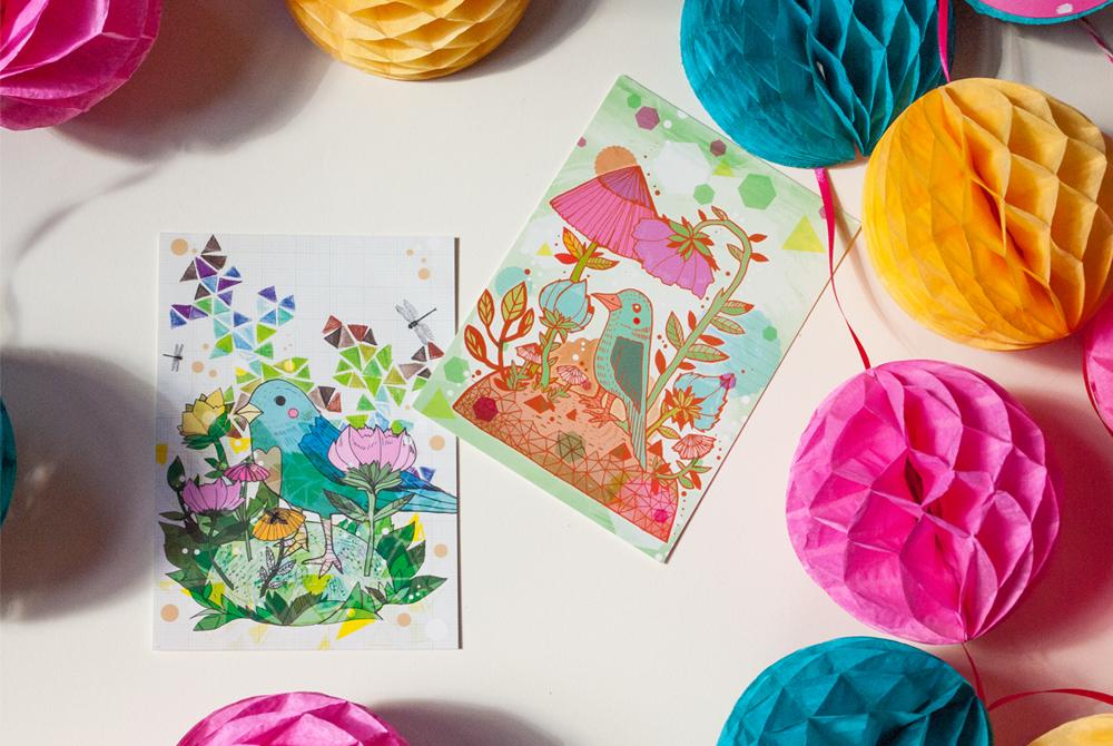 Bird-Postcards